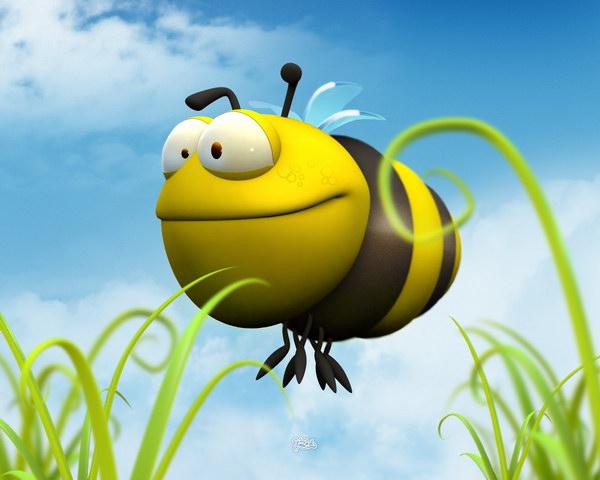 Пазл пчёлка